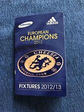 Chelsea Football Club 2012 schedule fixtures European soccer Champions England
