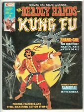 DEADLY HANDS OF KUNG FU #5 OCT 1974 VG 4.0 MARVEL - SHANG-CHI MOVIE COMING SOON!