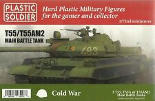Plastic Soldier 1/72 T-55/T-55AM2 (3 Fast Assembly Tanks)