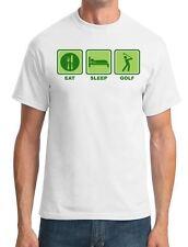 Eat - Sleep - Golf - Funny Golfer Mens T-Shirt