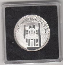 Médaille argent les 7 Merveilles du monde Cité Nabatéenne De Pétra