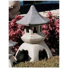 """Design Toscano 17½"""" Pagoda Lantern Oriental Garden Centerpiece Sculpture"""