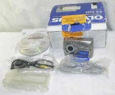 0Lympus Fe-140 6Mp 3X Zoom Digital Camera-Original Box-2 Cd'S-Accessories