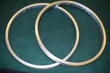UKAI EQUALIZER rim set  48 hole 20'' old school bmx 1980s silver NOS