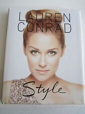 """""""STYLE"""" BOOK BY LAUREN CONRAD - AUTOGRAPHED  -"""