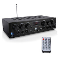 Pyle PTA62BT Compact 750W 6-Ch. Stereo Receiver System with Bluetooth FM Radio M