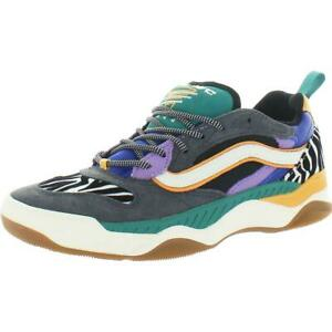 Vans Brux WC Women's Mixed Media Colorblock Low Top Fashion Sneakers