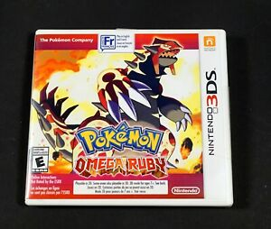 POKEMON OMEGA RUBY NINTENDO 3DS NEW FACTORY SEALED CAN !!