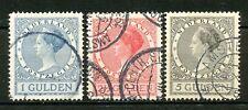 Nederland  163 - 165 B gebruikt paar