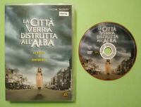 DVD Film Ita Horror LA CITTA'VERRA'DISTRUTTA ALL'ALBA ex nolo no vhs cd lp (T7)