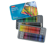 Derwent Inktense Blocks 72 Tin Complete Set of Water-Soluble Colour Sticks