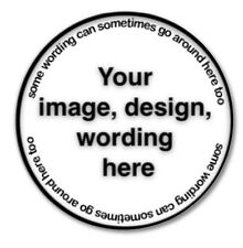 43mm Button Badge with Your Own Design - B'n 1 To 10 @ $5.00 Each