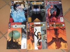 lot 6 albums THE MONARCHY n°2 3 4 5 6 et 11 - comics US VO - Wildstorm