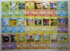 Complete XY EVOLUTIONS Common Pokemon Character Cards Set