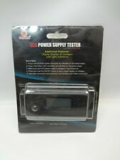 Coolmax PS-228 LCD Power Supply Tester *New Unused*