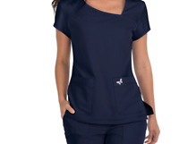 Koi Mariposa Medical Scrub Set Maria Pant 728 & Tara Top 363 Navy 2XL New