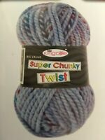 King Cole super chunky twist 100g balls 50% off RRP!