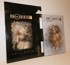RARE ~  LUIS ROYO PROHIBITED HC SeXy Art  SKETCHBOOK with Slipcase