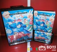 Mega Man The Wily Wars Game Cartridge SEGA Mega Drive Boxed Europe Version PAL