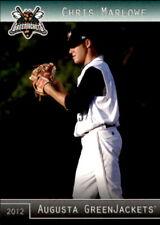 2012 Augusta GreenJackets Grandstand #24 Chris Marlowe Spring Texas TX Card