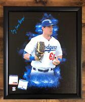 Cody James Bellinger Autographed Signed Framed 16x20 Canvas Dodgers PSA/DNA COA