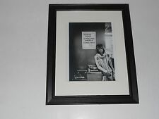 """Framed Keith Richards """"Drug Free"""" 1972 Tour Picture Rolling Stones, 14"""" by 17"""""""
