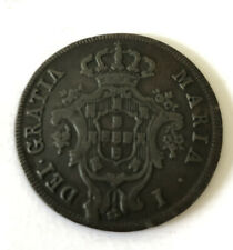 More details for 1792 portuguese 10 reis coin good condition