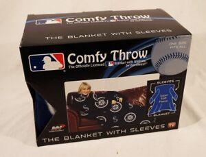 Seattle Mariners Baseball Fleece Comfy Throw - The Blanket With Sleeves