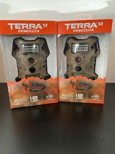 X2 Wildgame Innovations Terra 12 Extreme 12mp Trail Camera Camp - New in Box