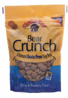 Bear Crunch Grain Free Treats For Dogs Natural Crunch Wholesome Bacon 8oz