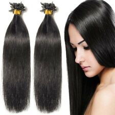 U Tip Nail Real Human Remy Hair Extensions Keratin Pre Bonded 8A Quality P641
