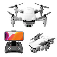 4K HD Dual Camera Mini Foldable Drone WiFi FPV RC Remote Control Aircraft AU