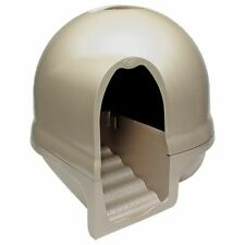 Cat Litter Box Dome Design Large Breed Recycled Plastic Stop Litter Spreading