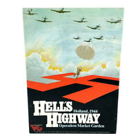 Victory Games Hell's Highway UNPUNCHED Complete Wargame 1983