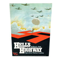 Victory Games: Hell's Highway Unpunched Complete Wargame Excellent 1983