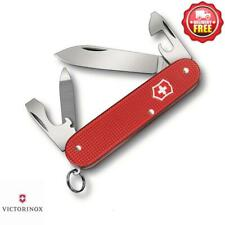 Victorinox Cadet Alox Limited Edition RED Swiss Army Pocket Knife | 9 Functions