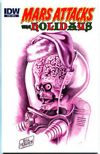 MARS ATTACKS Holidays #1, NM ,2013, IDW, Aliens, Ray guns, Xmas,more MA in store