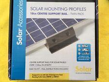 Solar Panel Corner side Mounting Brackets Caravan Motorhome Campervan BLACK