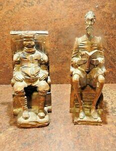 Black Forest hand carved figures