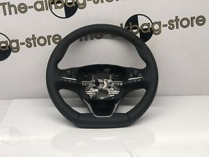 Ford Focus ST Line 2018-on Steering Wheel Multifunction Flat Bottom RED Stitch