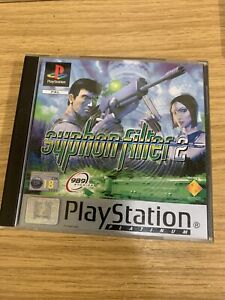 SYPHON FILTER 2 PS1 GAME COMPLETE WITH BOOKLET PAL
