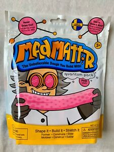 Mad Mattr Blue Modeling Doh Putty Waba Fun Dough Matter 10 oz PINK Free Ship!