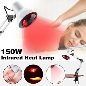 Infrarotlampe Wärmelampe Wärmestrahler Rotlicht Strahler mit Klemme 150 Watt DHL