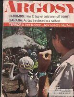 Argosy Magazine January 1970 Erling Strom New Guinea Mudmen Paul Kruger