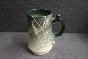 Arts Crafts Roseville Rozane Ware Royal Wheat Grass Art Pottery Beer Mug Signed