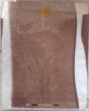 Français Vintage Fully Fashioned Bas Bas en nylon taille 1 8.5 Serrure Welt