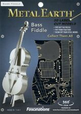 Bass Fiddle Metal Earth 3D Model Kit FASCINATIONS