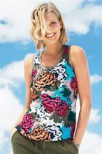 Next Women's Floral Scoop Neck Vest Top, Strappy, Cami Tops & Shirts