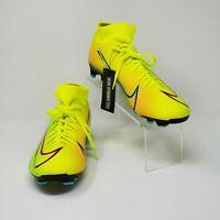 Nike Mercurial Superfly 7 Academy MDS FG/MG Lemon Soccer Cleat BQ5427-703 Sz 10