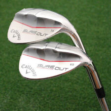 Callaway Golf Sure Out Wedges 56º & 60º - 2 Pc Matched Set Sand & Lob Steel NEW